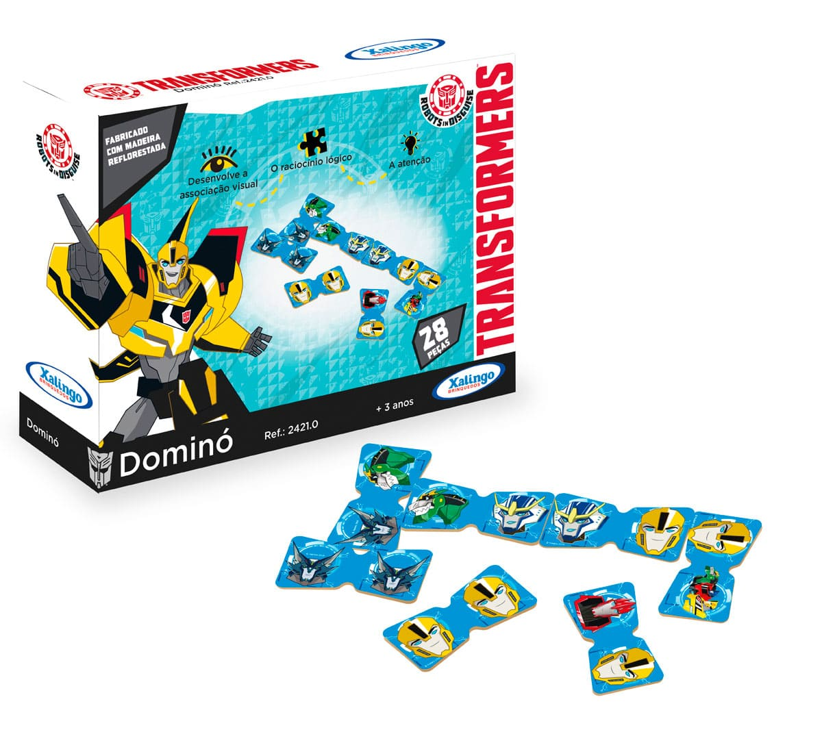 Dominó Transformers - Xalingo
