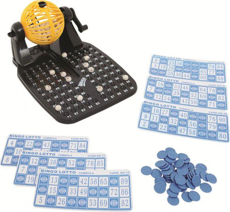 Jogo De Bingo Com 24 Cartelas - Xalingo