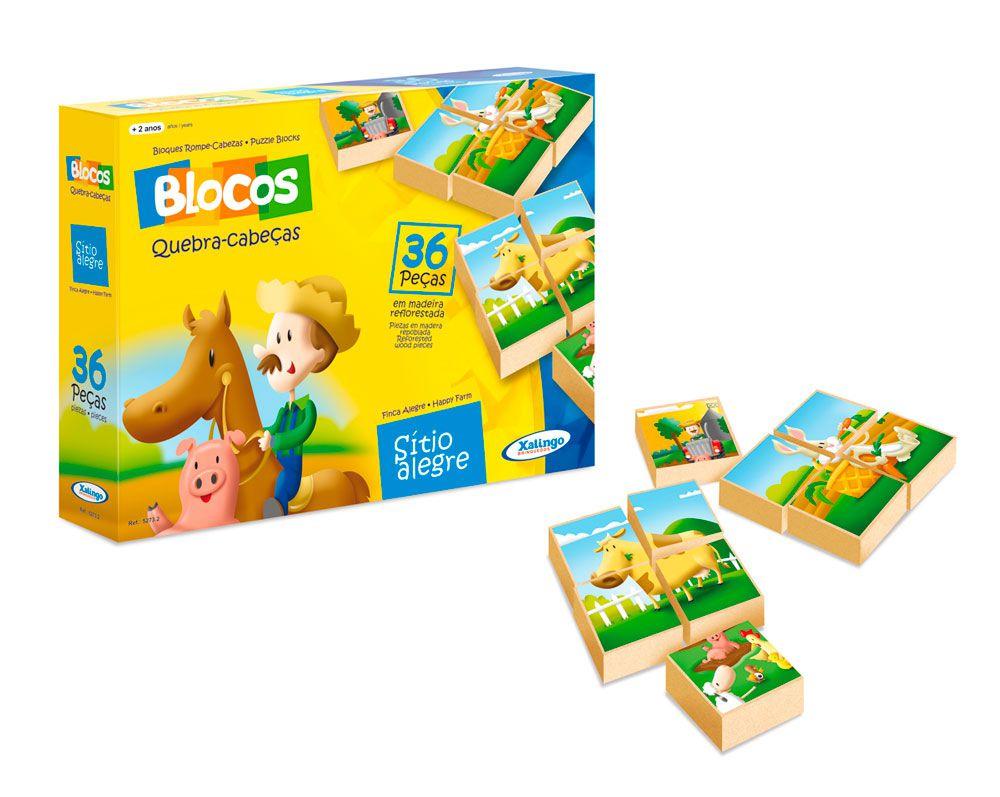 Kit Blocos Pedagógicos - Quebra-cabeças De Temas