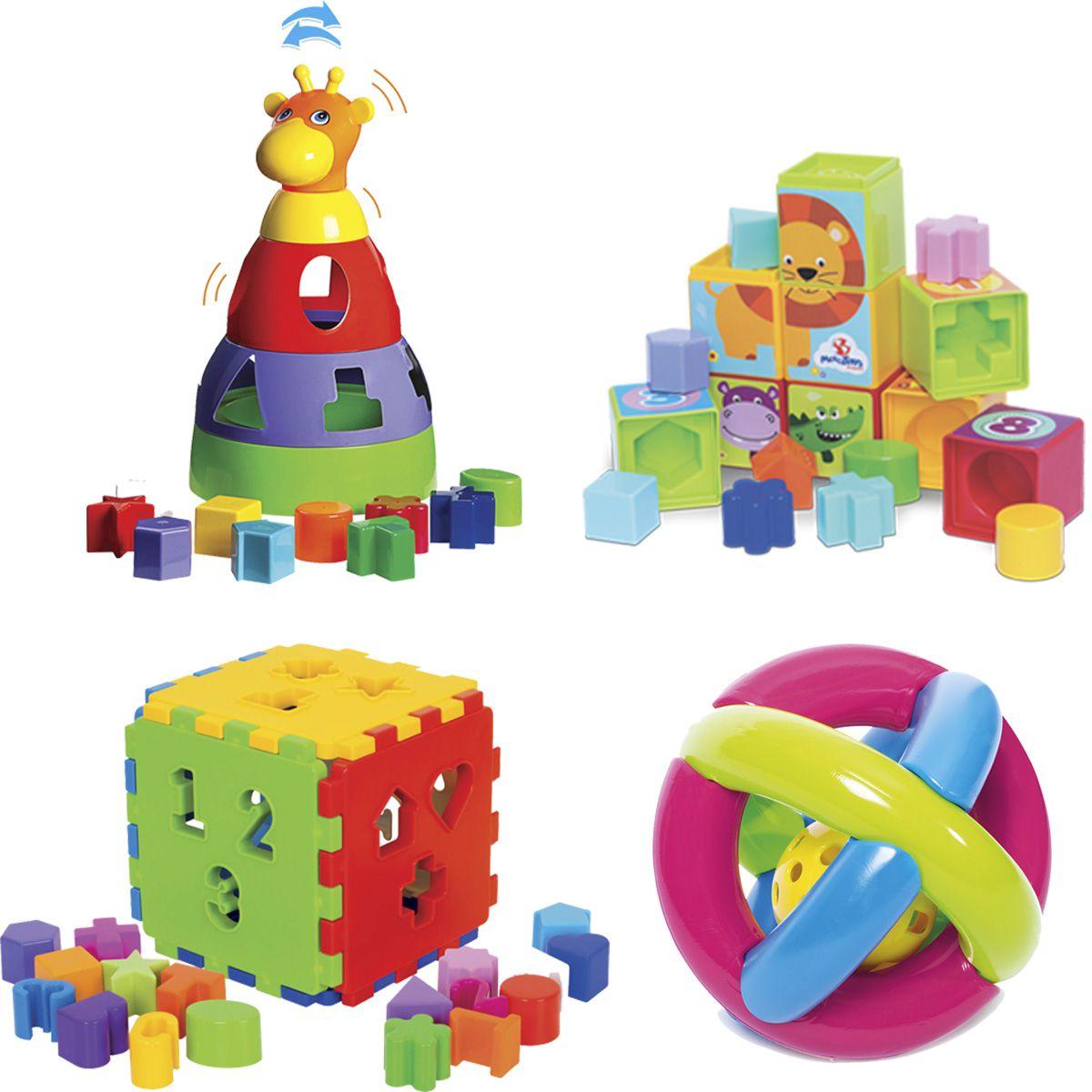 Kit de Atividades para Bebê - Acima de 6 meses
