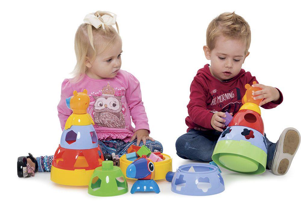Kit de Brinquedos Infantil e Educativo para Bebês