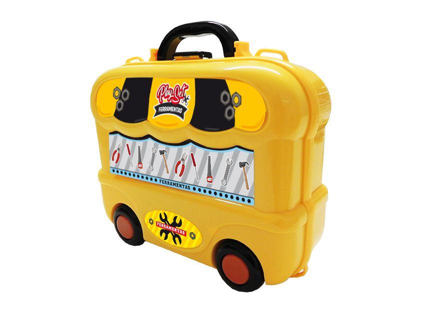 Maleta de Brinquedo Ferramentas - Playset Xalingo