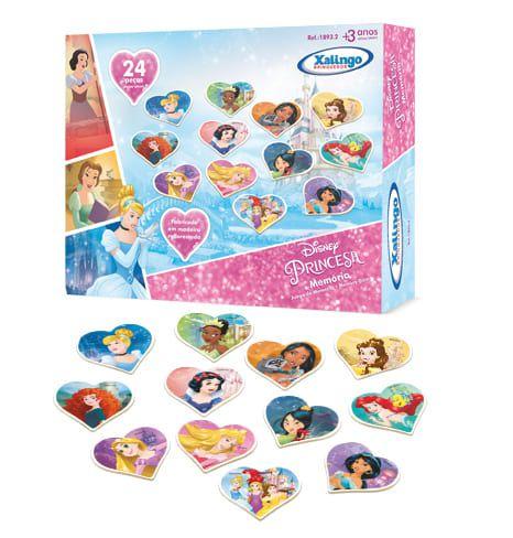 Memória Princesa Disney - 24 Peças - Xalingo