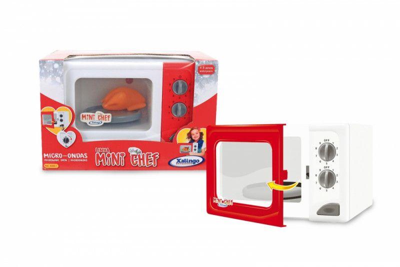 Micro-ondas Mini Chef - Brincando de Casinha - Xalingo