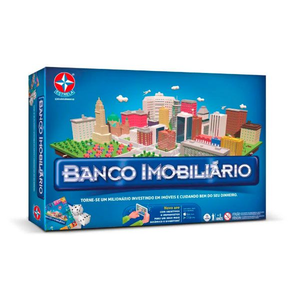 Novo Banco Imobiliário com Aplicativo da Estrela