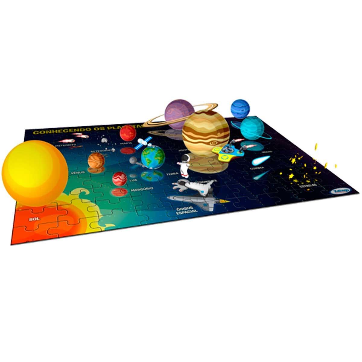 Quebra-cabeça Interativo - Conhecendo Os Planetas