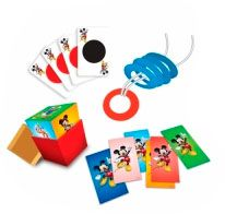 Kit de Mágicas do Mickey Mouse com 8 Mágicas - Xalingo