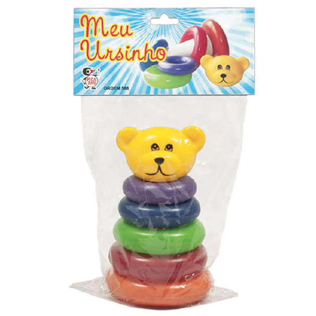 Ursinho Didático Brinquedos para Bebês - Pica Pau