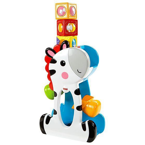 Zebra Blocos Surpresa Fisher Price Mattel