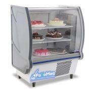 Balcão Refrigerado Para Bolos e Doces 1,20 Mts-FRILUX