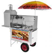 Combinado 3x1 Hot Dog + Lanche + Churrasco - Armon