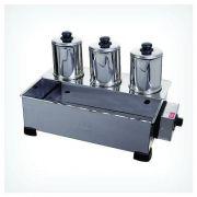 Esterilizador 3 Bules em Inox com Automático -ALSA