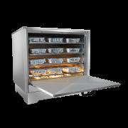Estufa Elétrica Aquecedora Para 36 Marmitas Inox Metalmaq