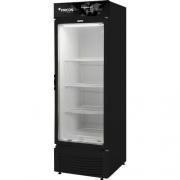 Freezer Dupla Ação Porta de Vidro -18 graus Black VCED 565 Litros Fricon 220V