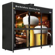 Mini Câmara Especial Bebidas 6 Portas 3000 Litros Rf 059-Frilux