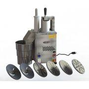 Processador de Alimentos com 6 Discos Inox Motor de 1/2 CV - Becker