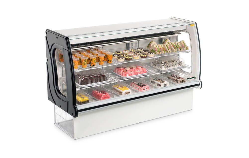 balcão confeitaria refrigerado VNPRS 1260 REFRIMATE