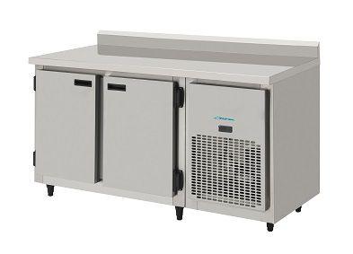 Balcão de serviços refrigerado Inox Escovado 1,50 Mts-KOFISA