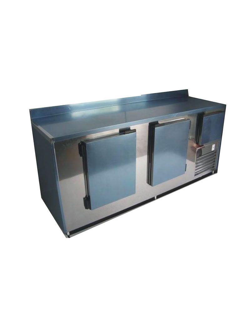 Balcão de Serviços Refrigerado 2,00Mts em Inox Base Frio