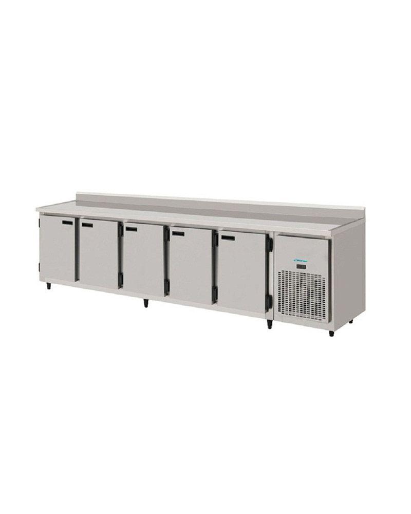 Balcão de Serviços Refrigerado inox 3 metros-Kofisa