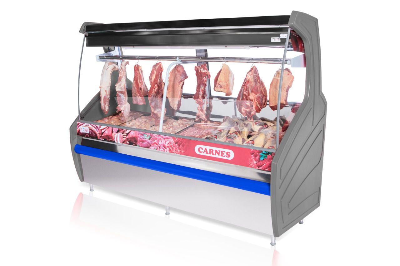 Balcão expositor de carnes 2 Metros peccp 200 Polar
