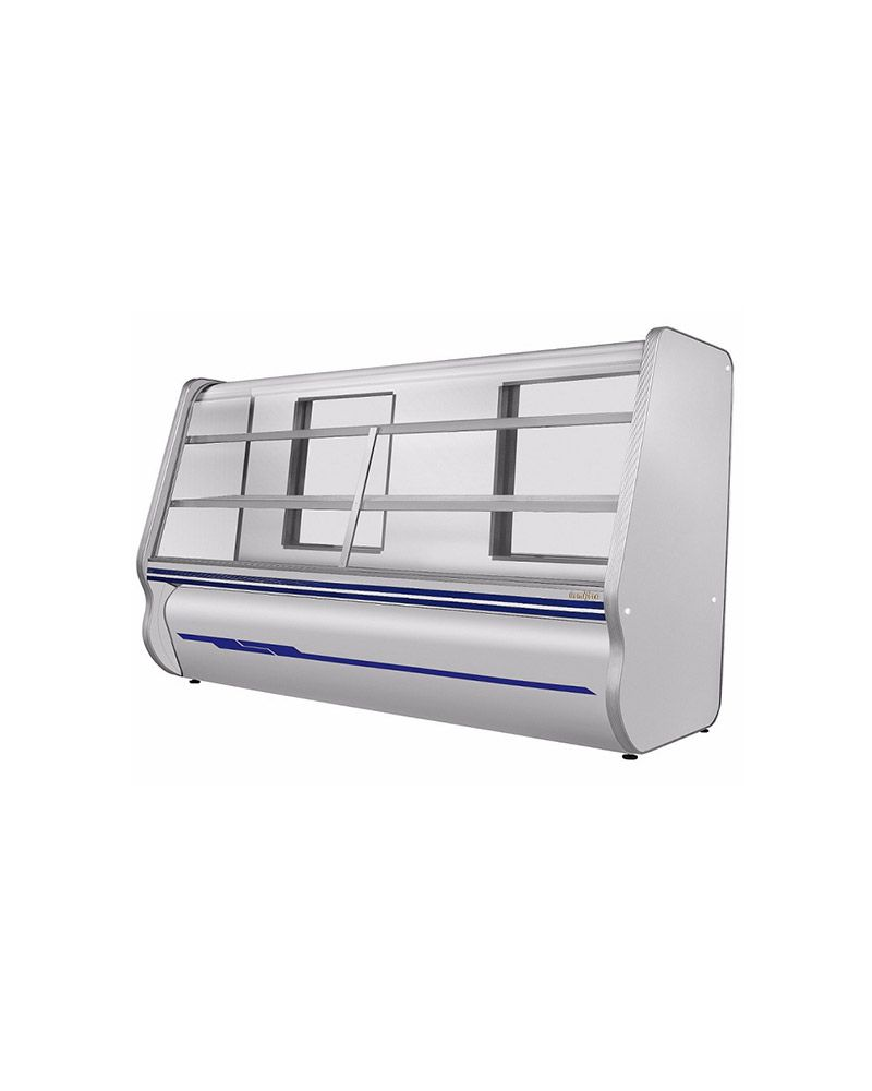 Balcão Refrigerado 2 Pista Fria Todo em Inox 2,00 Mts - Ormifrio