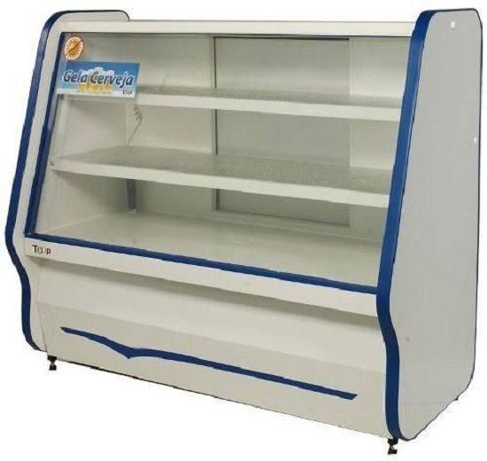 Balcão Refrigerado Top Com 2 Pistas Frias 1,25 Mts - Ormifrio