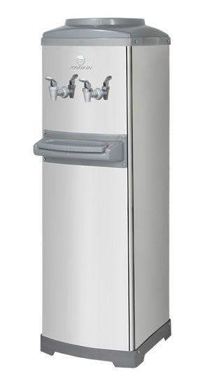 Bebedouro refrigerado c/gabinete garrafão inox k10-KARINA