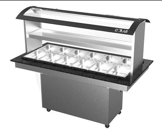 Buffet conjugado 12 CUBAS quentes e 6 frias Premium-polar