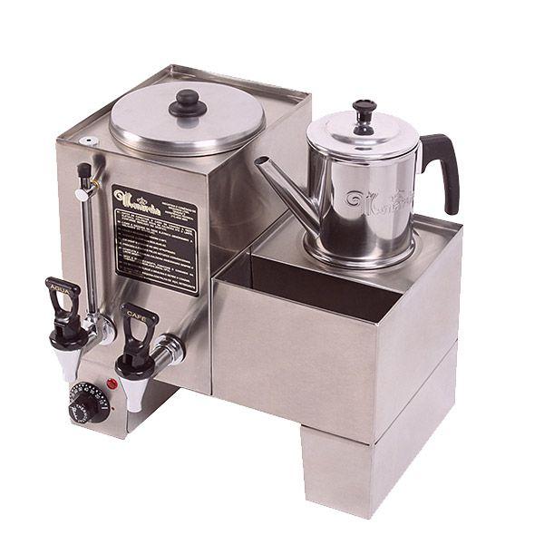 Cafeteira Conjugada 1 Dep de Café 3 litros+ Esterilizador Monarcha