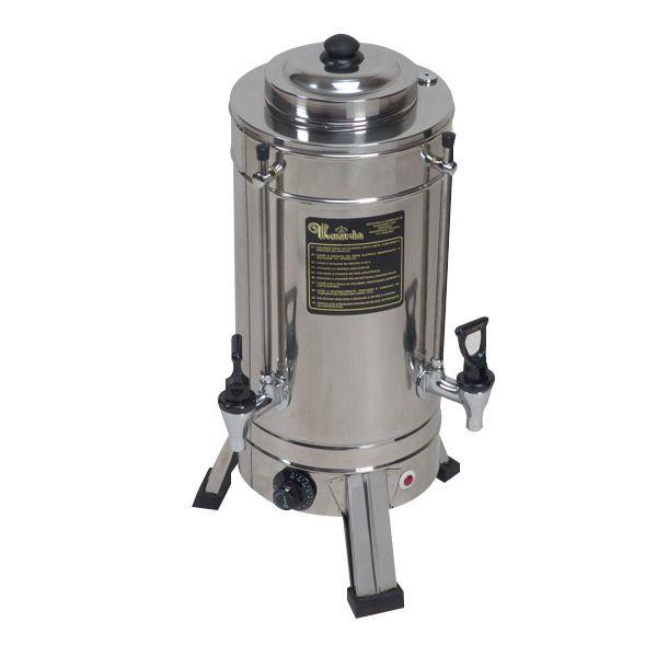 Cafeteira Elétrica 2 Litros em Inox - Monarcha (MSTPJR)