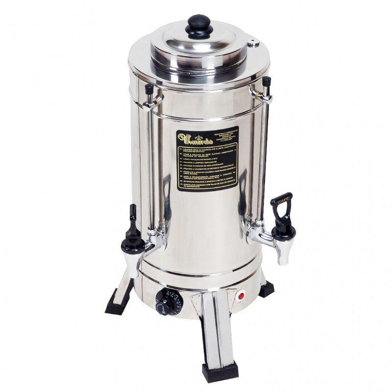 Cafeteira Elétrica 3 Litros em Inox - Monarcha (MSTP1)
