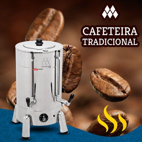 Cafeteira Elétrica 4 Litros Inox Marchesoni