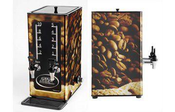 Cafeteira elétrica 5 Litros Inox e Adesivada-TITÃ