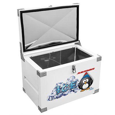Caixa Térmica 360 litros INOX INTERNO-ARMON