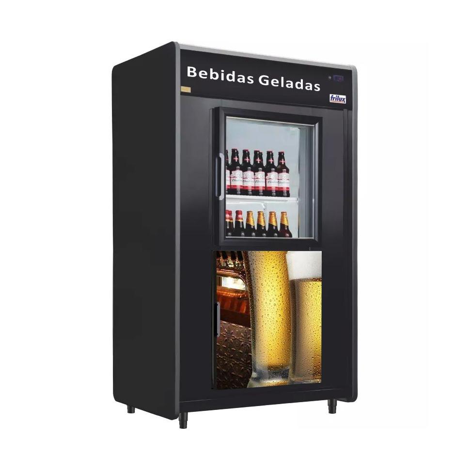 Câmara Cervejeira Expositor Capacidade 480 Garrafas de 600 ml-FRILUX