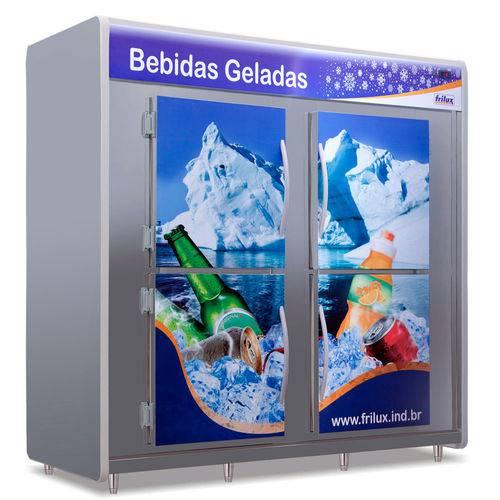 Câmara Fria inox De Bebidas 2400 litros Rf057 Frilux