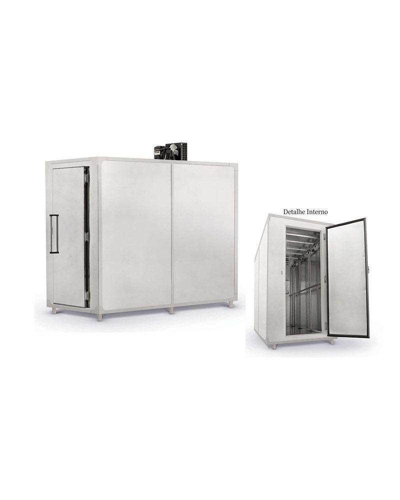 Câmara Fria Inox para Resfriados MCI 4.000 Litros - Refrimate