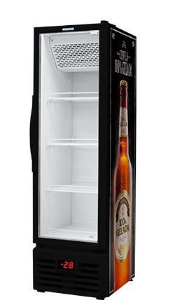 Cervejeira 4 caixas porta de vidro 284 litros-FRICON