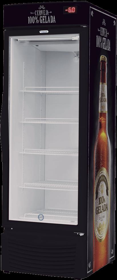 Cervejeira 8 Caixas 600 ml Porta de Vidro VCFC 565 D Fricon
