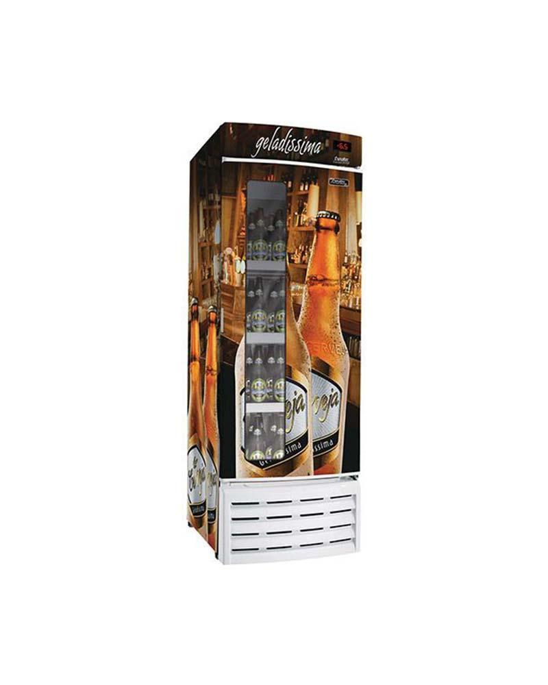 Cervejeira 8 Caixas 600ml c/ Visor na Porta - CV-520R-VP Esmaltec