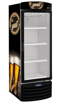 Cervejeira Black Porta de Vidro 572 Litros-METALFRIO