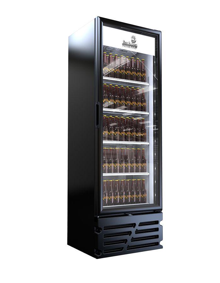 Cervejeira Black porta de Vidro ccv315-Imbera