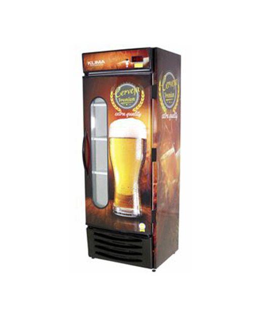 Cervejeira Capacidade 8 Caixas Porta com Visor Klima