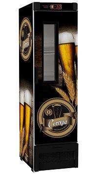 Cervejeira Porta com Visor 324 Litros (04 cxs garrafa 600ml)METALFRIO