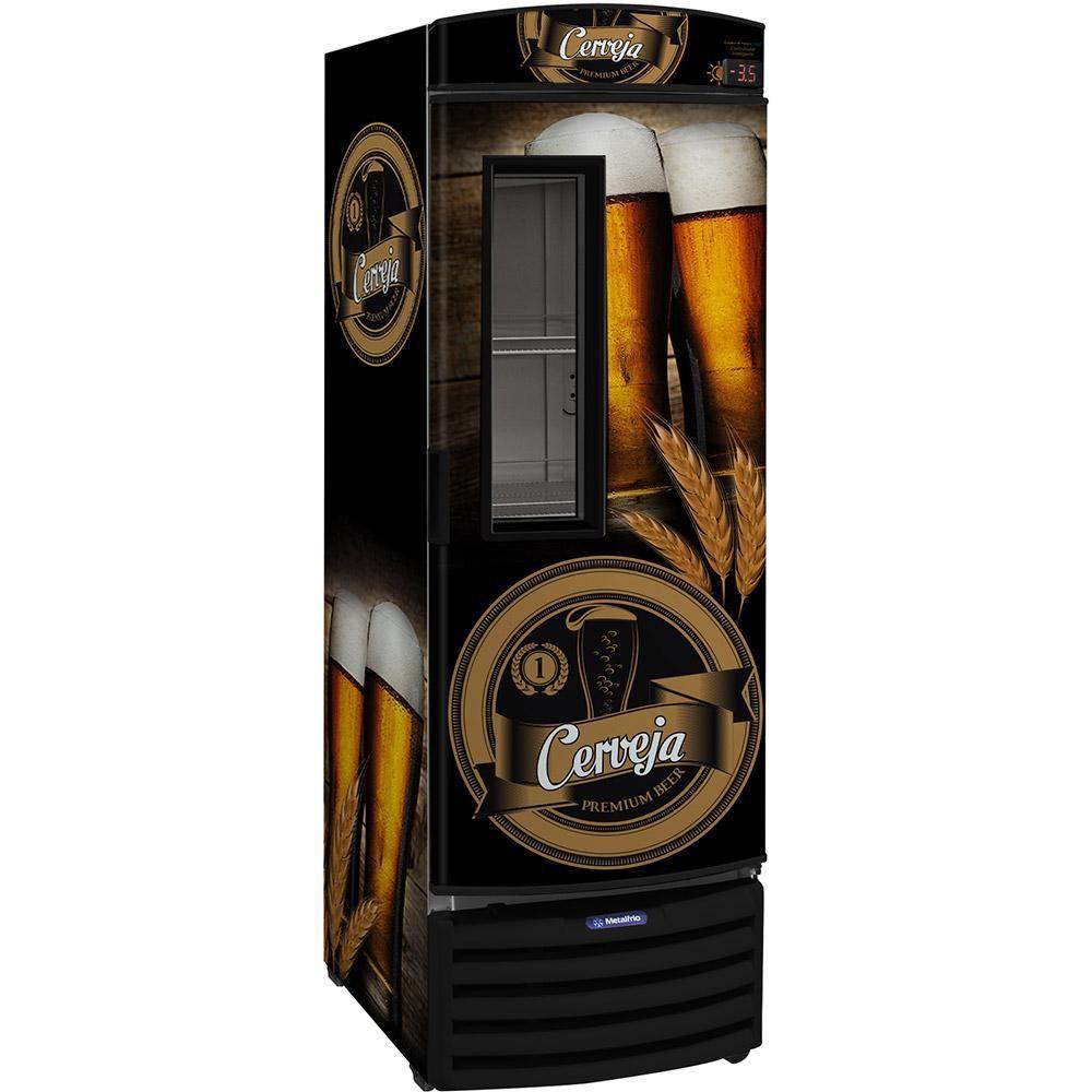 Cervejeira Porta com Visor 434 litros VN44rb-METALFRIO