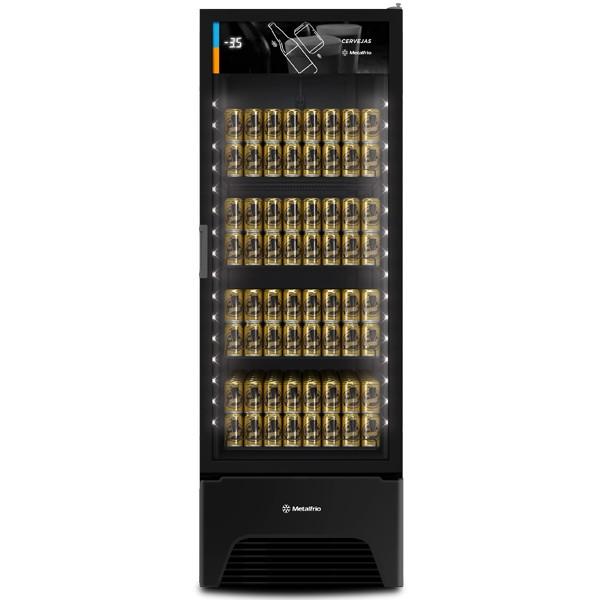 Cervejeira Porta De Vidro VN50AH Optima All Black 497 Litros Metalfrio