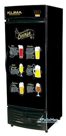 Cervejeira vertical 1 porta capacidade p/10 caixas 600 ml-klima