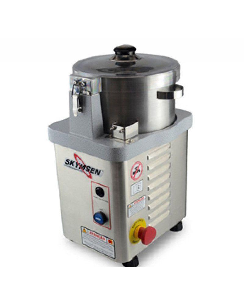 Cutter Preparador de alimentos Inox CR-4 Lts C/NR-12 - Skymsen