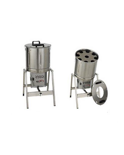 Descascador Basculante Inox de Batata, Alho e Cebola 10 Kg - Becker